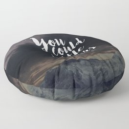 You could rattle the stars (moon included) Floor Pillow