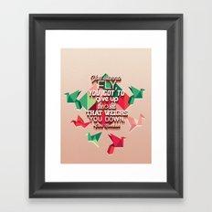 toni morrison  Framed Art Print