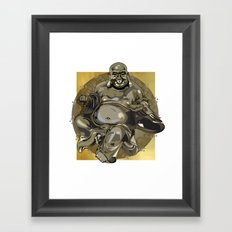 Laughing Buddha II Framed Art Print