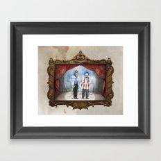 The Panto Horsemen Framed Art Print