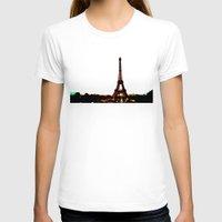 paris T-shirts featuring paris. by zenitt