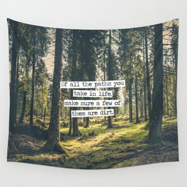 Dirt Paths Wall Tapestry