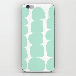 Aqua Stones iPhone Skin
