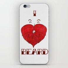 I love Beard iPhone & iPod Skin