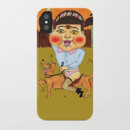 Doggy Ride iPhone Case