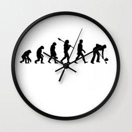 Curling sport Wall Clock