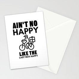 Ain't No Happy Like The Last Box Happy Stationery Cards