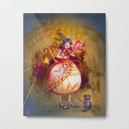 Love in Wonderland Metal Print