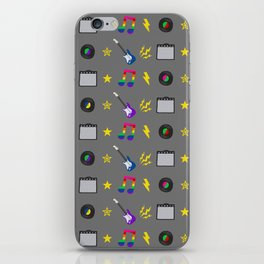 Punk Rock Rainbows iPhone Skin