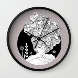 Travelling - Mulled Time Wall Clock