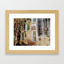 Villa Carolina Framed Art Print