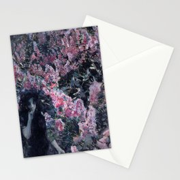 Stunning Lilacs in Blossom by Mikhail Vrubel Stationery Cards