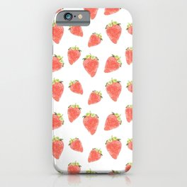 La Fraise iPhone Case