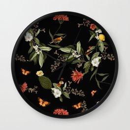 Biodiversity Wall Clock