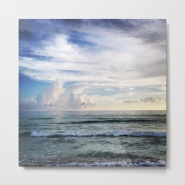 Clouds and Water Metal Print