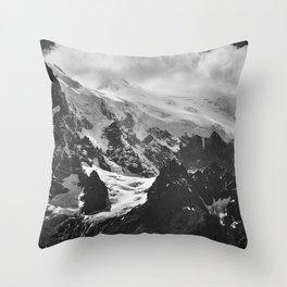 Mountains Panorama Throw Pillow