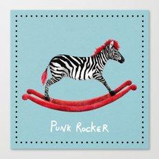 Punk Rocker Canvas Print