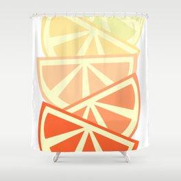 Orange Slices Shower Curtain