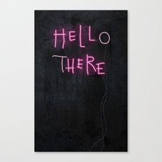 Hell Here Canvas Print