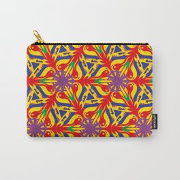 colorful pattern C Carry-All Pouch