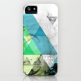 Abstract Geometry V3  iPhone Case