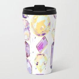 Crystal Gems Stripe Travel Mug