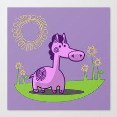 L. Horse Canvas Print