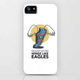 #6 Mount up on Wings like Eagles iPhone Case