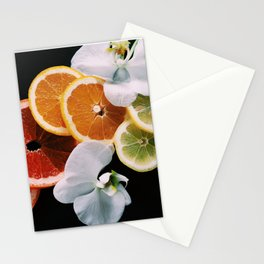 Rainbow of Citrus Stationery Cards