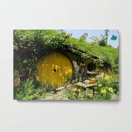 Hobbit Town Metal Print