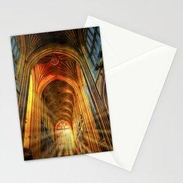 Bath Abbey Sun Rays Art Stationery Cards