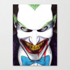 That Evil Smile Canvas Print