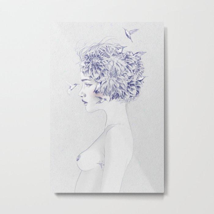 Dahlia Metal Print