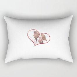 April and Jackson Rectangular Pillow
