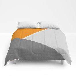 Orange And Gray Comforters