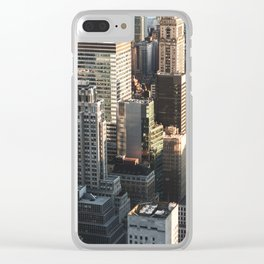 NYC 12 Clear iPhone Case