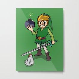 Link's Revenge Metal Print
