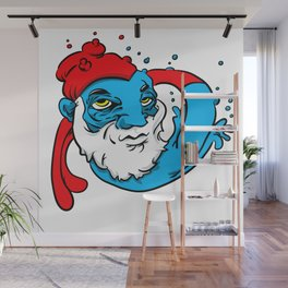 When smurfing goes wrong Wall Mural