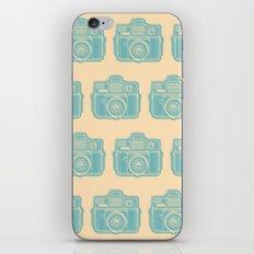 I Still Shoot Film Holga Logo - Reversed Turquoise/Tan iPhone Skin