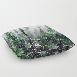 Lost In Nature Floor Pillow