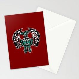 Northwest Pacific coast Haida art Thunderbird Stationery Cards