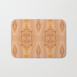 Olive wood surface texture abstract Bath Mat