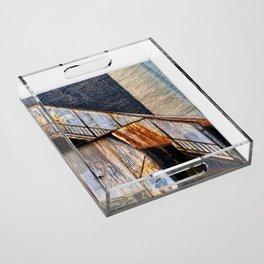 December Acrylic Tray