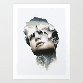 INNER STRENGTH 2 Art Print