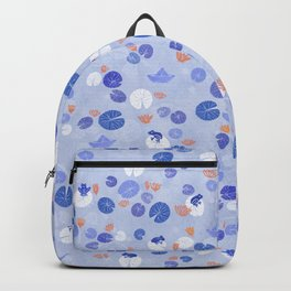 Lilypads and Frogs Backpack