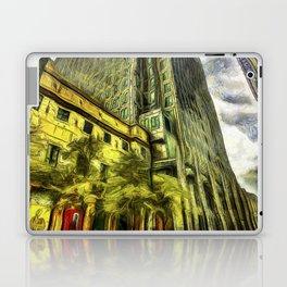 Canary Wharf London Art Laptop & iPad Skin
