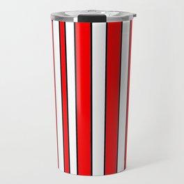 Strips 10-line,band,striped,zebra,tira,linea,rayas,rasguno,rayado. Travel Mug