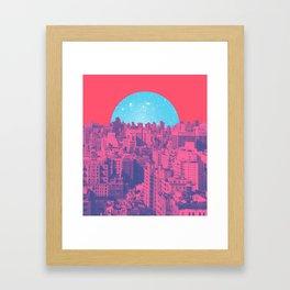 Metropolis Landing Framed Art Print