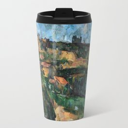 1904 - Paul Cezanne - Bend Of The Road At The Top Of The Chemin Des Lauves Travel Mug