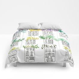 Row House Planters Comforters